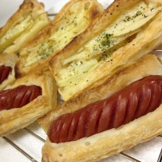 おやつにも朝食にも、手間なし簡単なパイ作ってみた