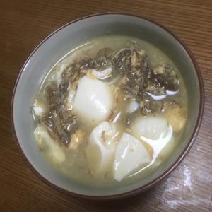もずくと卵のスープ