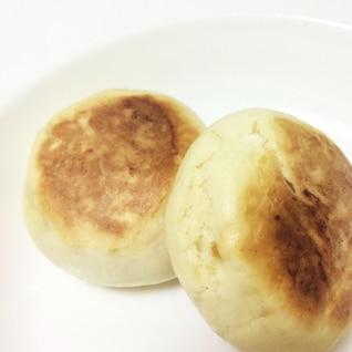 発酵なし!フライパンで簡単おやつパン