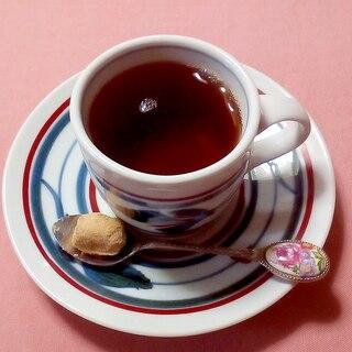 生姜と黒糖紅茶