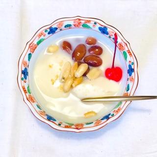 お家で台湾旅行!生姜スープの自家製豆花