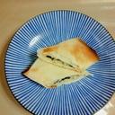 お餅とチーズとじゃこと海苔の春巻き
