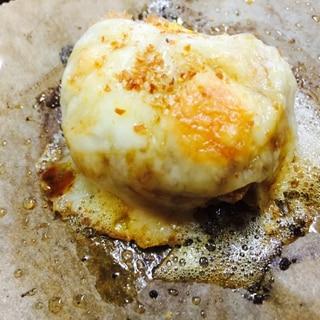 アレンジ!カボチャコロッケの卵チーズ焼き