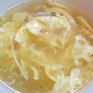 中華風☆たまごスープ