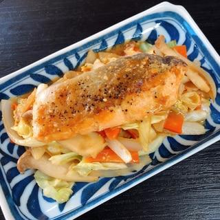 お弁当にも!鮭のちゃんちゃん焼き