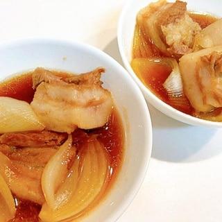 玉ねぎが美味しい☆豚の角煮