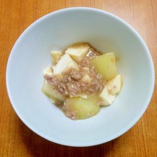 冬瓜の豆腐あんかけ