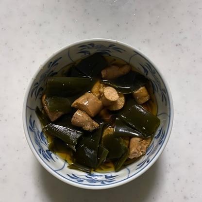 昆布と一緒に煮てみました。 もうちょっと味を濃くしても良かったかも。 でも美味しく仕上がって、家族は喜んでました!