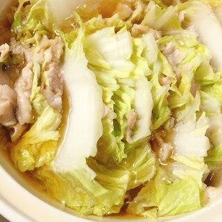 冬のお助けレシピ!白菜のミルフィーユ鍋