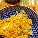 エリンギの炒り卵