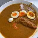海老と、ゆで卵の、カレー