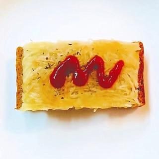 じゃが芋ガレットトースト