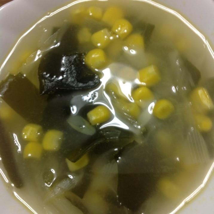 創味シャンタンで中華スープ