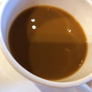 バニラ香る黒蜜ホットコーヒー