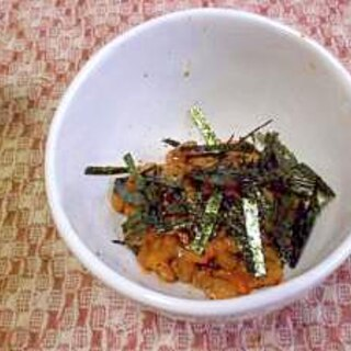 私の納豆の食べ方。