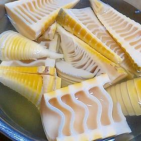 筍の灰汁抜き方法