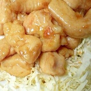 さっぱり食べれる!鶏ムネの甘酢煮