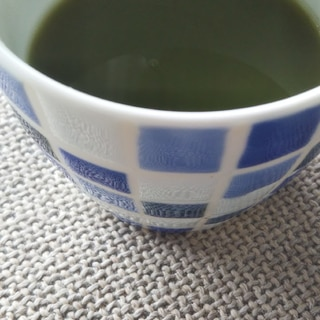 濃いめの緑茶で免疫力UP