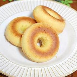 ホットケーキミックスで♪ふんわり焼きドーナツ