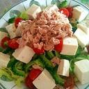 ゴーヤとお豆腐のサラダ