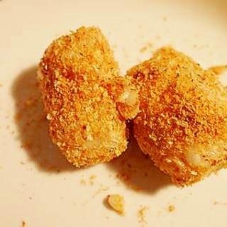 グリーンナッツオイルとチーズで♪ ライスコロッケ