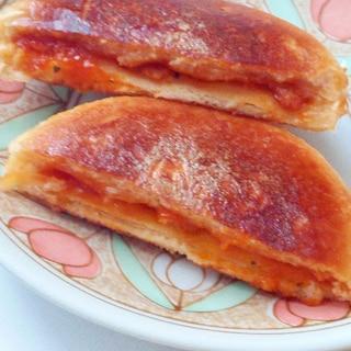 ピザまんアレンジ☆サクサクとろ旨☆ピザまん揚げ焼き
