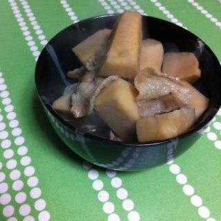 里芋の親芋の煮物