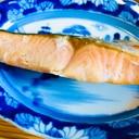 トースターで簡単に!☆鮭の塩焼き