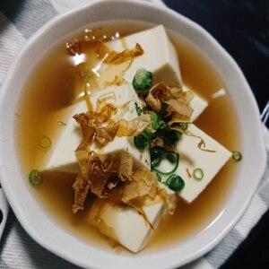 簡単☆レンジで即席湯豆腐!