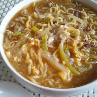 マルちゃん正麺で☆酸辣湯麺
