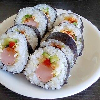 恵方巻にも!簡単 魚肉ソーセージ巻き