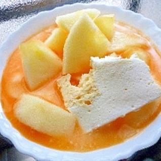 フロマージュ林檎レモン緑の野菜カルピスミルクYG