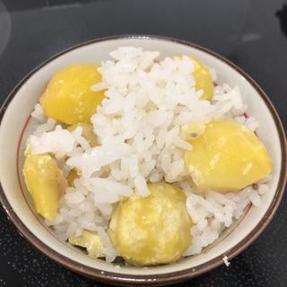 冷凍栗で簡単栗ご飯