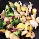 ごろっと根野菜と鶏胸肉の甘辛煮☆