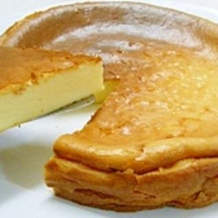 お手軽すぎてごめんなさい♪ベイクドチーズケーキ