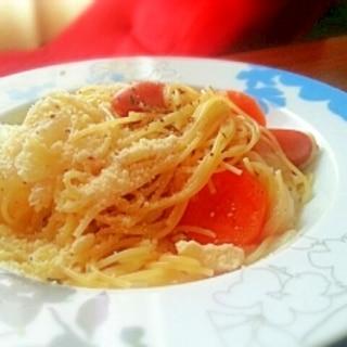ポトフをリメイク♡サラスパでスープスパ