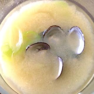 真空パックで爆速☆しじみのお味噌汁☆島根・宍道湖風