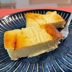 お豆腐とヨーグルトの超しっとりヘルシーケーキ♪