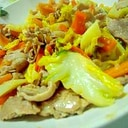 味噌野菜炒め
