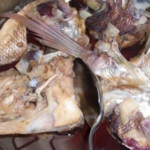 しょうがたっぷり鯛のお頭煮
