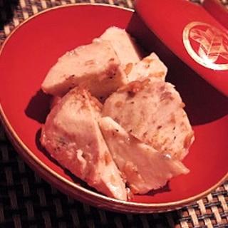 出汁いらず、桜えびと里芋の煮物