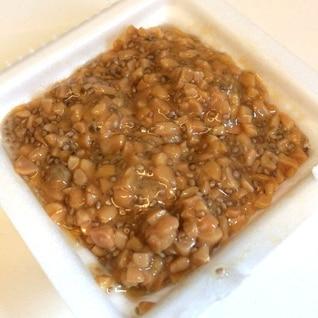 チアシード入り納豆