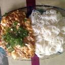 麻婆豆腐ソーメン