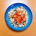 鮭といくらと大葉の炒飯