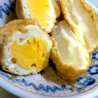 レンチンで楽チン!卵いなり