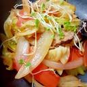 野菜のからし炒め