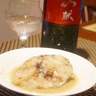 旬の鱈で、タイカレー風卵酒煮
