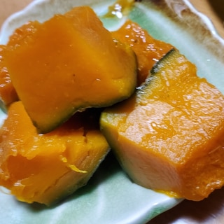 かぼちゃのいりこと出汁煮物