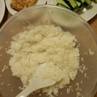 お家で♪簡単酢飯の作り方