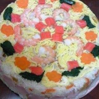 桃の節句☆ひな寿司ケーキでお祝いしましょう♪